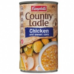 COUNTRY LADLE SOUP CHICKEN AND SWEET CORN 505G
