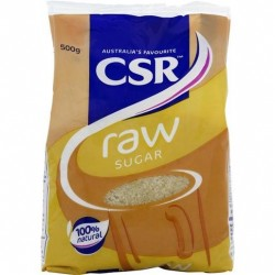 RAW SUGAR 500GM