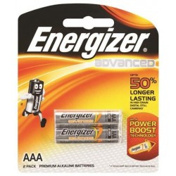 ADVANCED AAA BATTERY 2 PACK