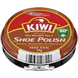 SHOE POLISH MID TAN 38GM