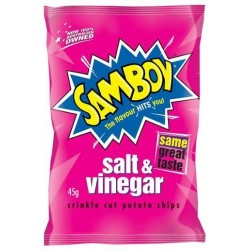 SALT AND VINEGAR POTATO CHIPS 45GM
