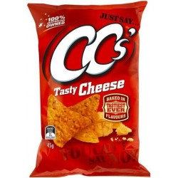 TASTY CHEESE CORN CHIPS 45GM