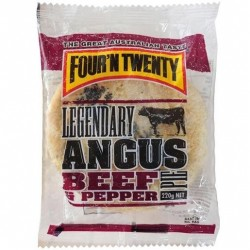 PIE ANGUS BEEF AND PEPPER 220GM