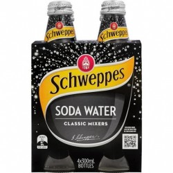 SODA WATER 4X300ML