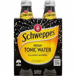 TONIC WATER 4X300ML