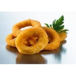 SQUID RINGS CRUMBED 1KG