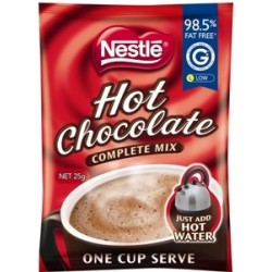 COMPLETE MIX HOT CHOCOLATE SACHET 100X25GM