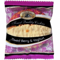 MIXED BERRY YOGHURT BAR 120GM