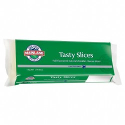 TASTY NATURAL CHEESE SLICES 1.5KG