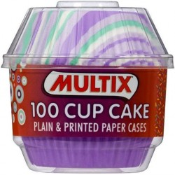 PLAIN AND PRINTED CUP CAKE PATTY PANS SMALL 100S
