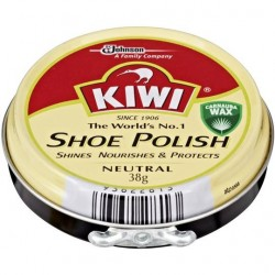 SHOE CARE POLISH NEUTRAL 38GM