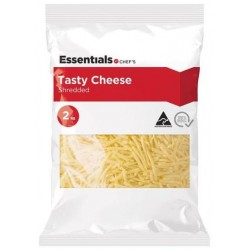 SHREDDED TASTY CHEESE 2KG