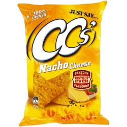 NACHO CHEESE CORN CHIPS 175GM