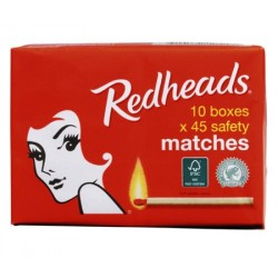SAFETY MATCHES 10X45'S