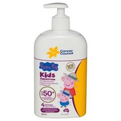 PEPPA PIG KIDS SUNCREEN SPF50+ 500ML