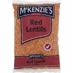 RED LENTILS 375GM