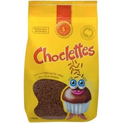 CHOCLETTES CHOCOLATE SPRINKLES 150GM