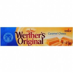 CARAMEL CHEWS ROLL 45GM