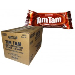 BISCUITS TIM TAM CHOCOLATE PORTIONS 150S