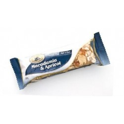 MACADAMIA & APRICOT NUT BAR 55GM