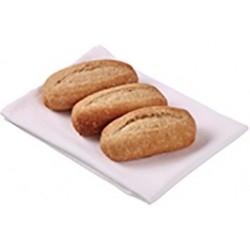 DINNER ROLL WHOLEMEAL PAR-BAKED 160X35GM