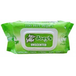 JOEYS ALCOHOL FREE UNSCENT BABY WIPES 100'S