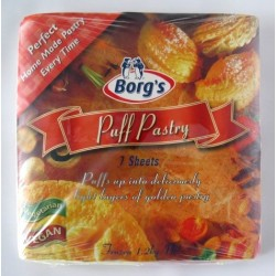 PUFF PASTRY SHEETS 7PACK 1.2KG