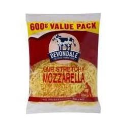 MOZZARELLA SHREDDED CHEESE 600GM