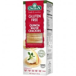 GLUTEN FREE QUINOA WAFER CRACKERS 100GM
