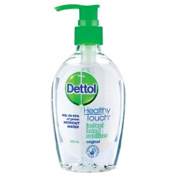 INSTANT HAND SANITISER ORIGINAL 200ML