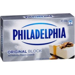 PHILADELPHIA CREAM CHEESE BLOCK 250GM