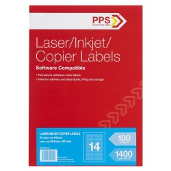 MAILING LABELS 14 UP 100PK