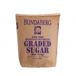GRADED WHITE SUGAR 15KG