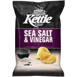 SEA SALT and VINEGAR NATURAL POTATO CHIPS 45GM