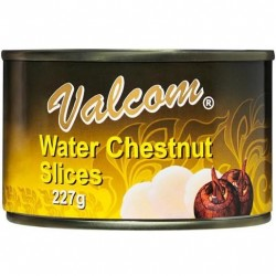 SLICED WATER CHESTNUTS 227GM