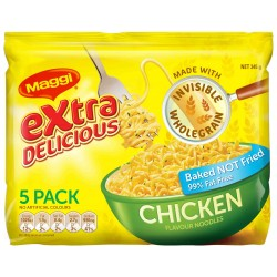 CHICKEN TWO MINUTE NOODLES 5 PACK 72GM