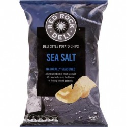SEA SALT POTATO CHIPS 165GM