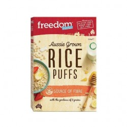 RICE PUFFS GLUTEN FREE 250GM