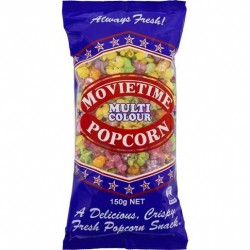 MULTI COLOUR POPCORN 150GM