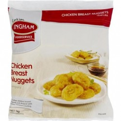 CHICKEN NUGGETS TEMPURA 1KG