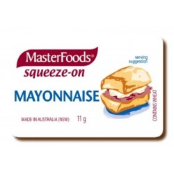 MAYONNAISE PORTIONS 100X11GM