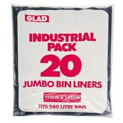 HEAVY DUTY GARBAGE BAG ROLL 100S