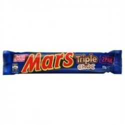 BAR TRIPLE CHOC 72GM