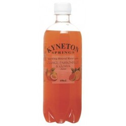 MINERAL WATER ORANGE,PASSIONFRUIT & GUAVA 600ML