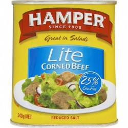 CORNED BEEF LITE 340GM