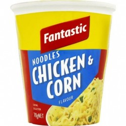 NOODLES CUP CHICKEN AND CORN 70GM