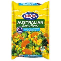 COUNTRY HARVEST CORN PEAS CARROT AND BROCCOLI 500G