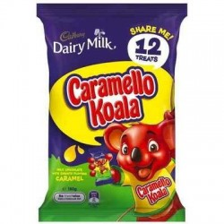 CARAMEL KOALA SHARE PACK 12PK 180GM