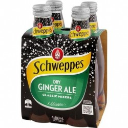 DRY GINGER ALE 4X300ML