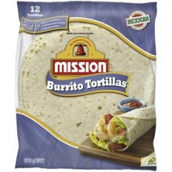 TORTILLAS BURRITO 8inch 576GM 12PK